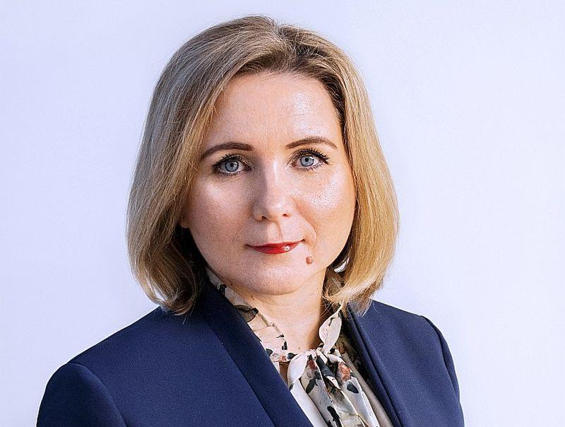 """Anita Liščenko, """"BlueOrange"""" maksājumu karšu pārvaldes vadītāja."""