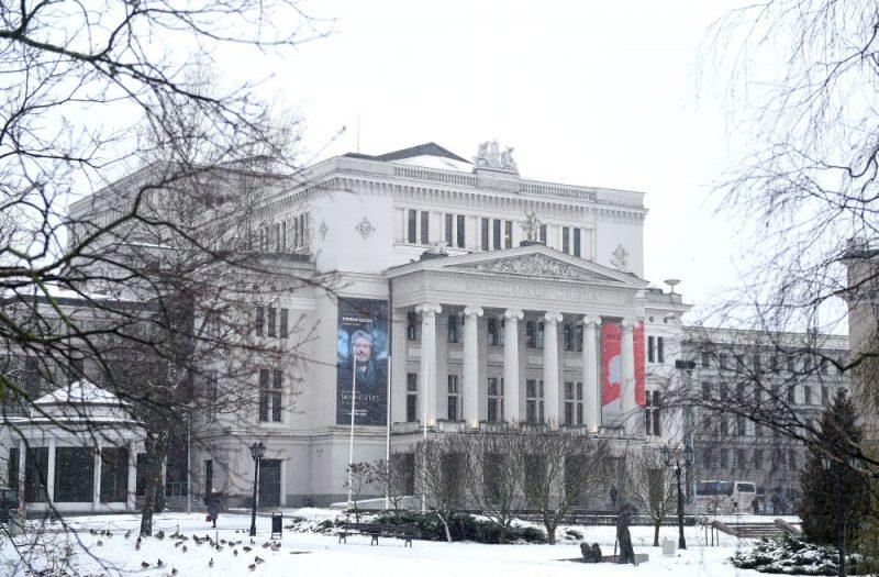 Latvijas Nacionālā opera un balets mūsdienās.