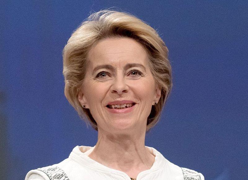 Urzula fon der Leiena, Eiropas Komisijas priekšsēdētāja.
