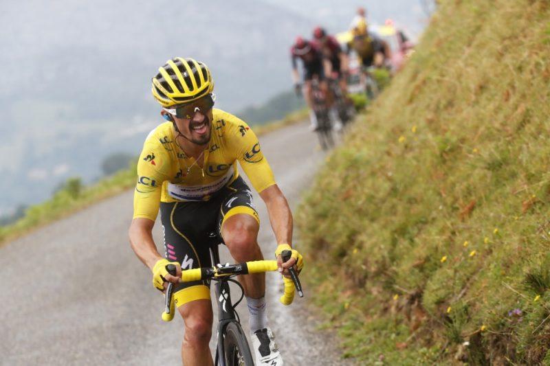 Francijas šosejas riteņbraucējs Žiljēns Alafilips pēc veiksmīgi aizvadītas sezonas svētdien tika atzīts par 2019.gada labāko pasaules riteņbraucēju.