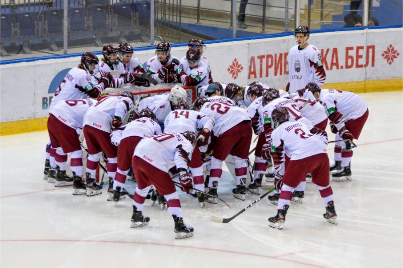 Latvijas U-20 hokeja izlase.