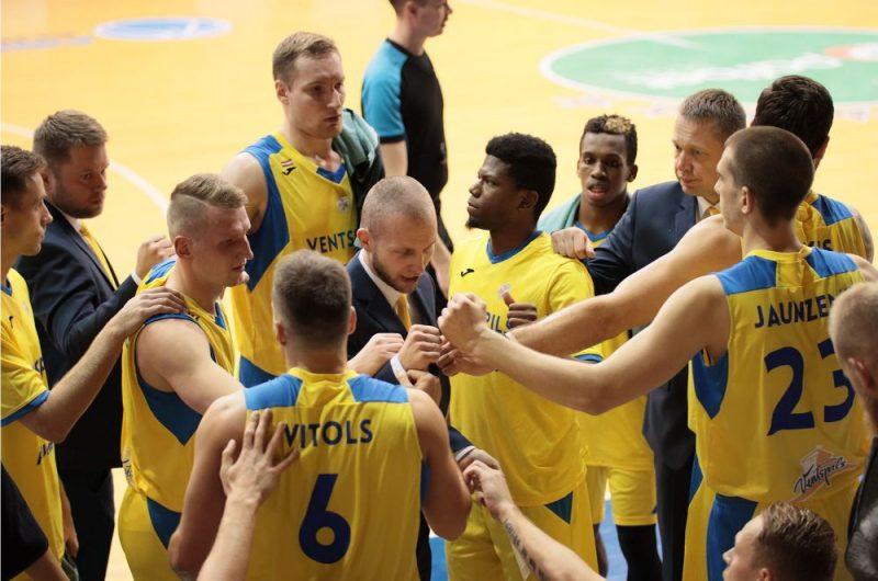 "BK ""Ventspils"" basketbolisti"