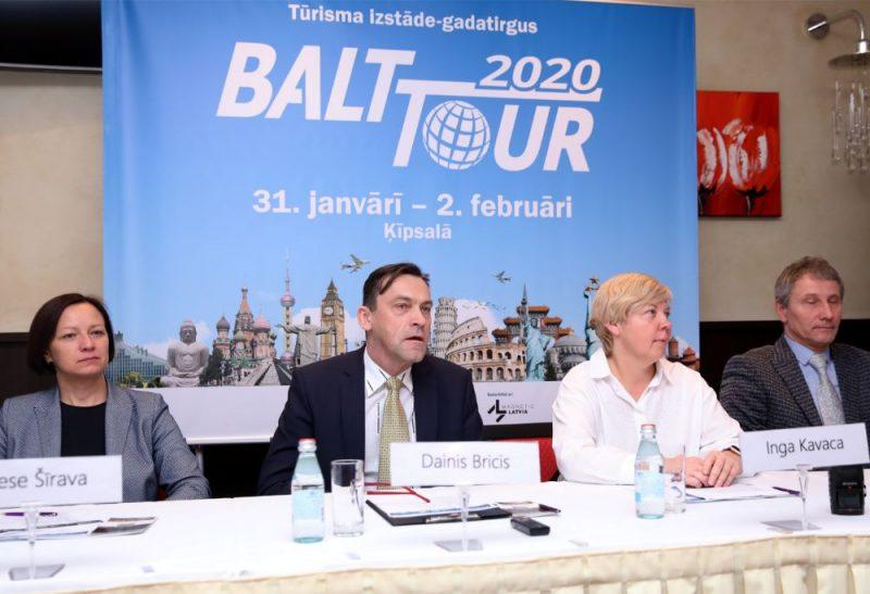 """Informē par tūrisma izstādi-gadatirgu """"Balttour 2020"""""""