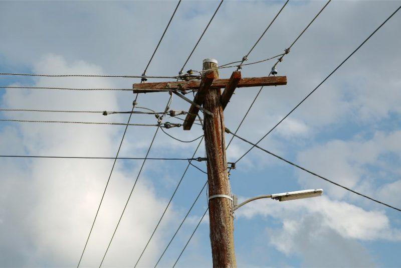 KARTE. Novados reģistrē elektrotīkla bojājumus