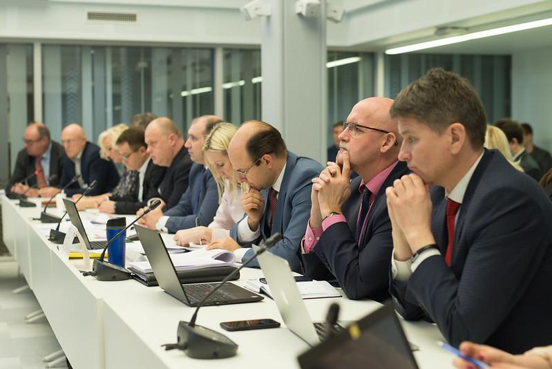 2020.gada 24.janvāris. Administratīvi teritoriālās reformas komisijas sēde.