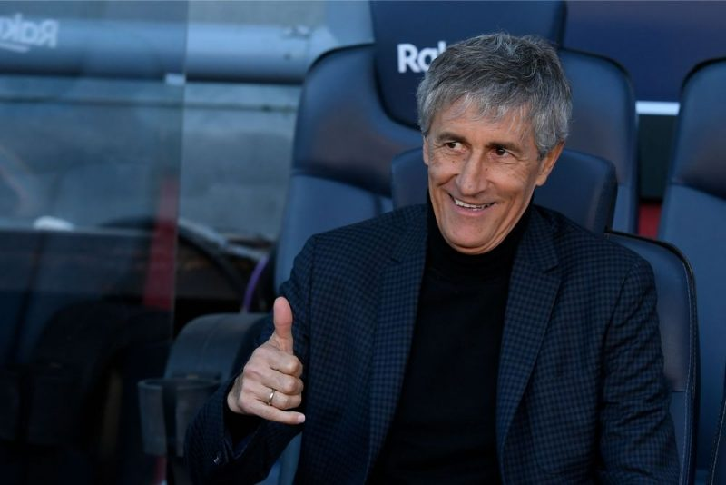 """Barcelona"" futbola kluba jaunais galvenais treneris Kiki Setjens."