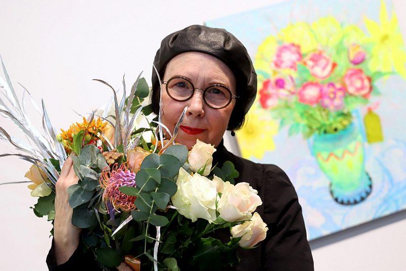 """Ilze Avotiņa: """"Mans dzīvesbiedrs man ļāvis kļūt par tādu gleznotāju, kāda esmu. Bet viņš ir laimīgs, skatoties uz padarīto darbu."""""""