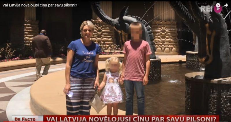 DĀR par bērnu nolaupīšanu apsūdzētā Latvijas pilsone Kristīne Misāne kopā ar bērniem. Misāne lūdz palīdzēt viņu glābt – izdot tiesāšanai Latvijā. Šobrīd viņa atrodas cietumā Dānijā.