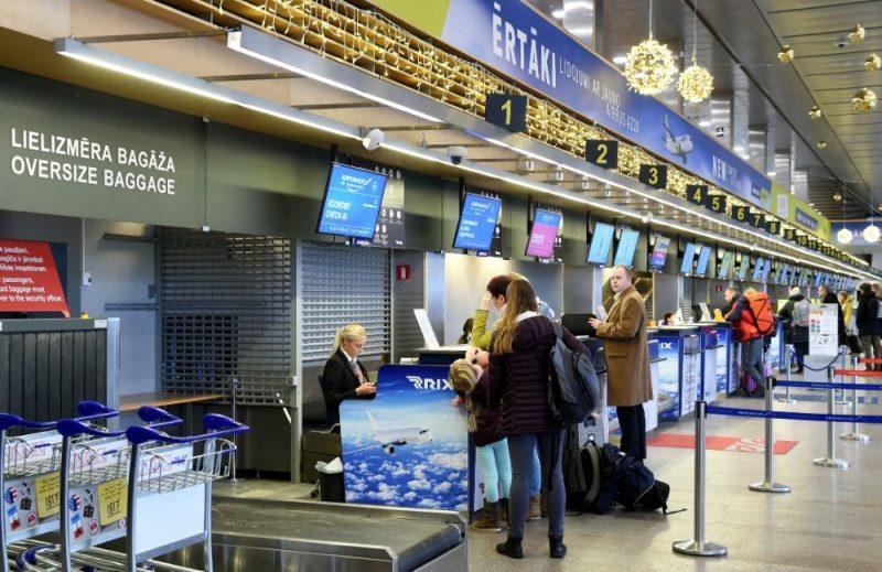 Rīgas lidosta.