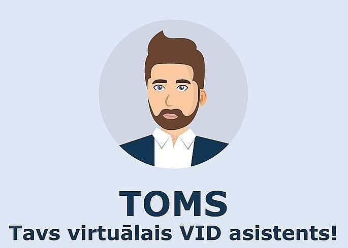 Virtuālā Toma portrets.