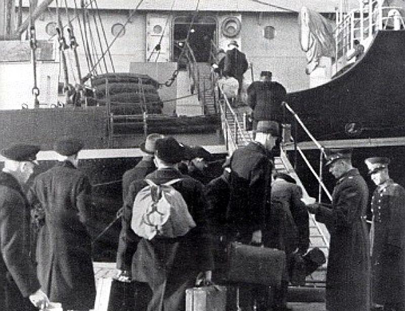 Vācbaltiešu izceļošana 1939. gada rudenī.
