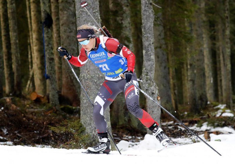 Baiba Bendika pasaules čempionātā jauktajā stafetē aizvadīja teicamu pirmo posmu.