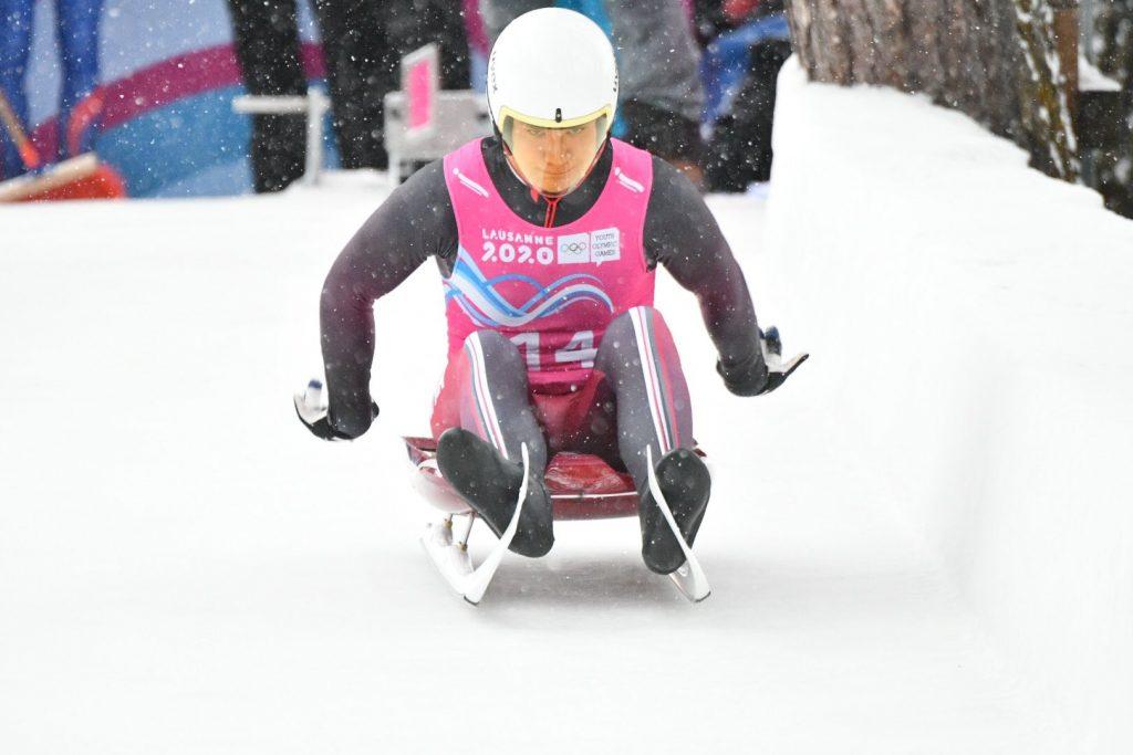 Gints Bērziņš triumfē Jaunatnas olimpiskajās spēlēs.