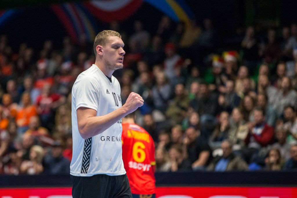 Dainis Krištopāns ir pasaules līmeņa pasaules handbola zvaigzne, pret kuru pretinieki gatavojas īpaši.
