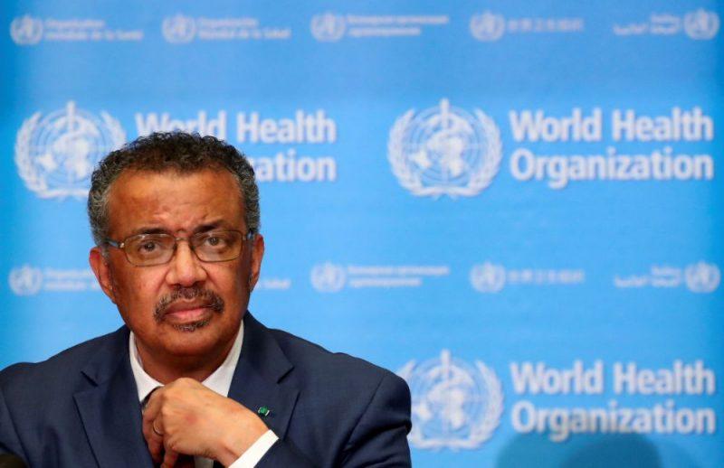 Pasaules Veselības organizācijas (PVO) ģenerāldirektors Tedross Adhanoms Gebreiesus.