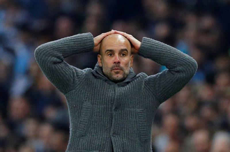 "Mančestras ""City"" galvenais treneris Hoseps Gvardiola."