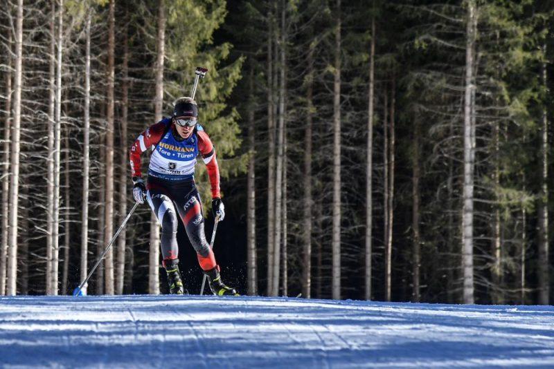 Baiba Bendika pasaules čempionāta individuālās distances sacensībās.