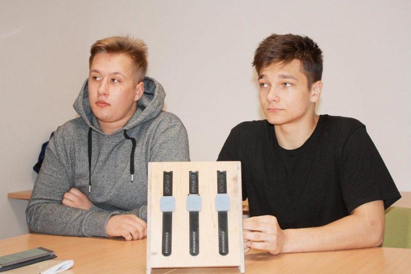 Ralfa un Elvija veikums parmanīts Valmieras biznesa inkubatorā, ar šo atbalstu būtu iespēja veidot savu uzņēmumu.