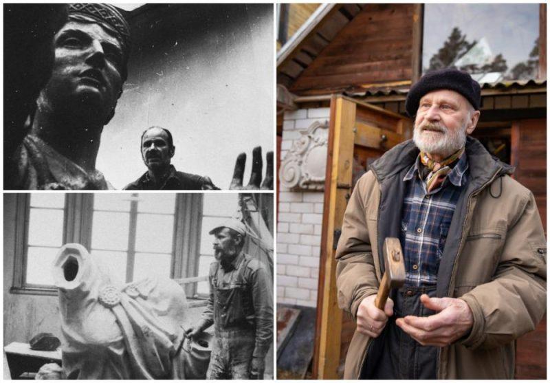 Par mūža ieguldījumu latgaliešu kultūras attīstībā tiks godināts tēlnieks Indulis Folkmanis