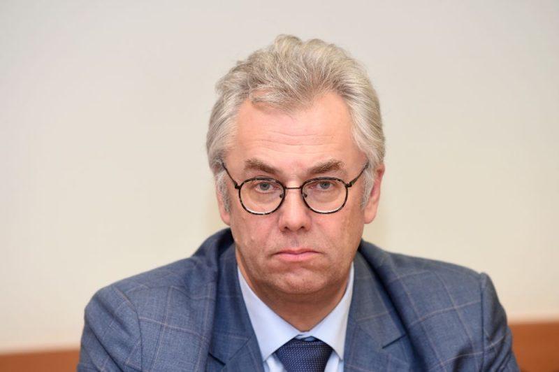 Slimību profilakses un kontroles centra Infekcijas slimību riska analīzes un profilakses departamenta direktors Jurijs Perevoščikovs.