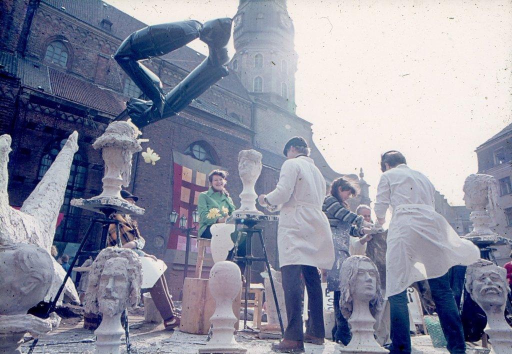 Mākslas dienas 1984. gadā.
