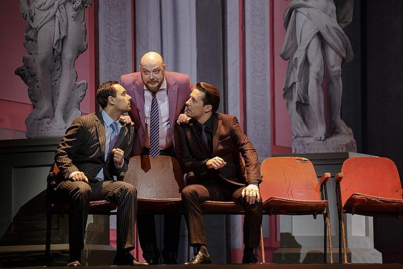 """Operas """"Pīķa dāma"""" atjaunojumā galveno lomu tēlotāji un viss ansamblis ir ļoti labā muzikālā formā."""