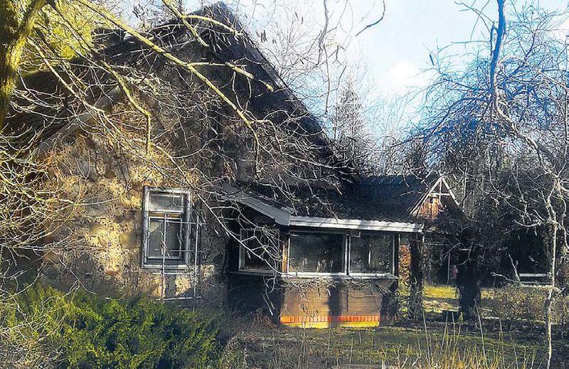 Mājas Talsu novada Vandzenes pagastā, kur notika nežēlīgais noziegums.
