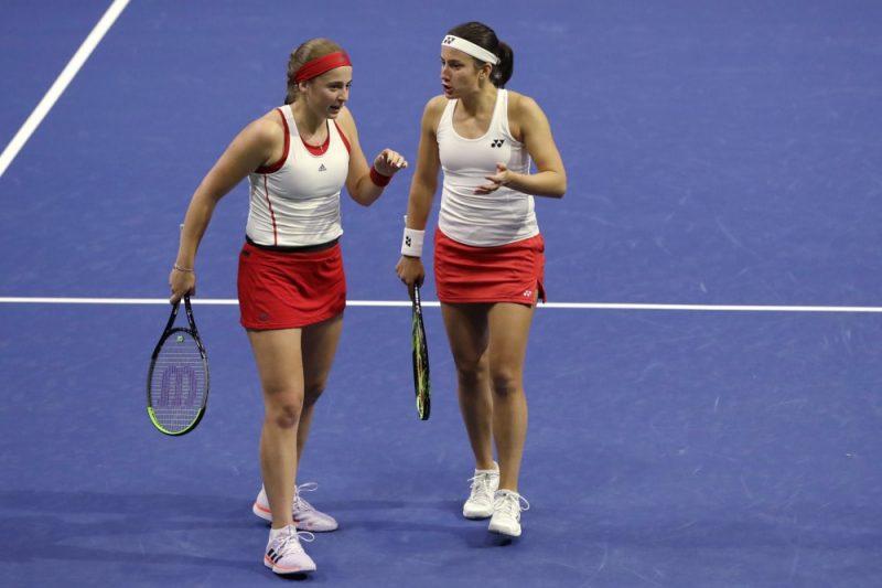 Aļoa Ostapenko un Anastasija Sevastova Federāciju kausa mačā pret ASV izcīnīja divas skaļas uzvaras, tomēr zaudēja izšķirošo dubultspēli.