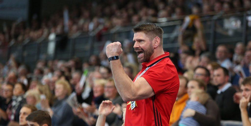 Latvijas handbola izlases galvenais treneris Ārons Cīrke.