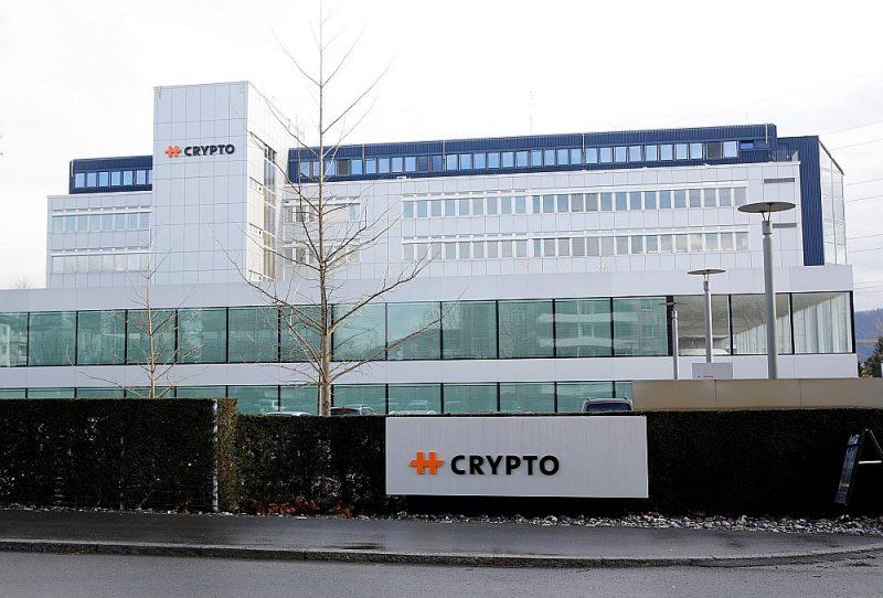 "Šveices firmas ""Crypto AG"" galvenā mītne Šteinhauzenā."