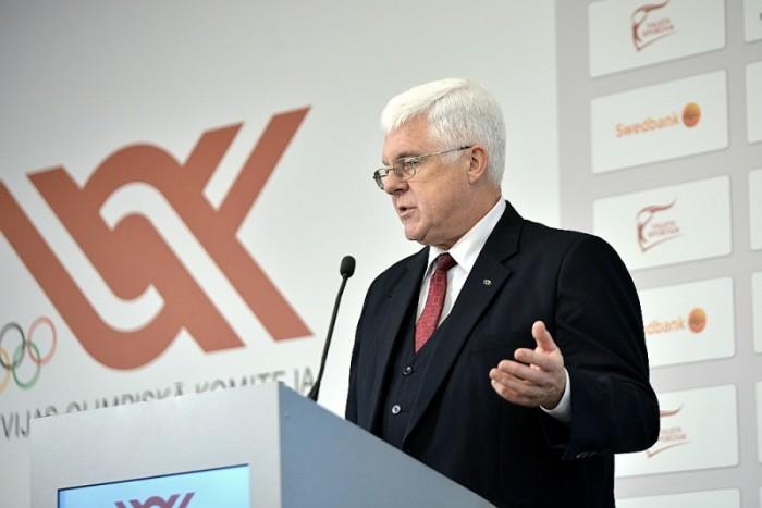 Ilggadējais LOK prezidents Aldobs Vrubļevskis martā atstās šo amatu.