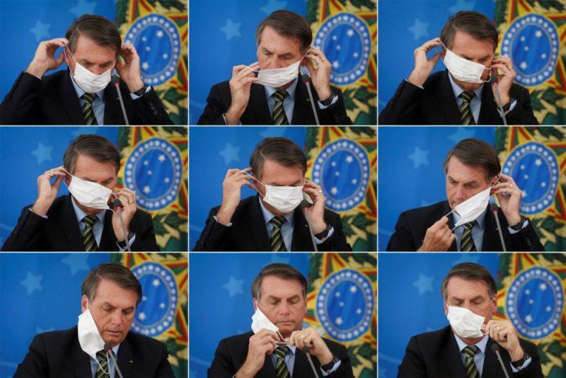 Brazīlijas prezidents Žairs Bolsonaru otrdien no jauna paudis viedokli, ka Covid-19 vīrusa radītie draudi tie pārspīlēti, un pārmeta Brazīlijas medijiem histērijas radīšanu.