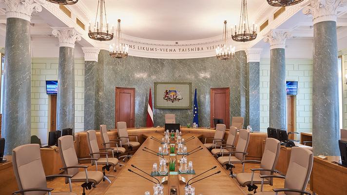 Ministri kabineta sēžu zāle