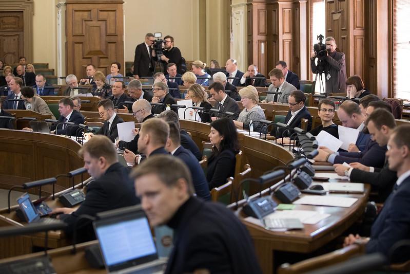 2020.gada 20.marts. Saeimas sēdē
