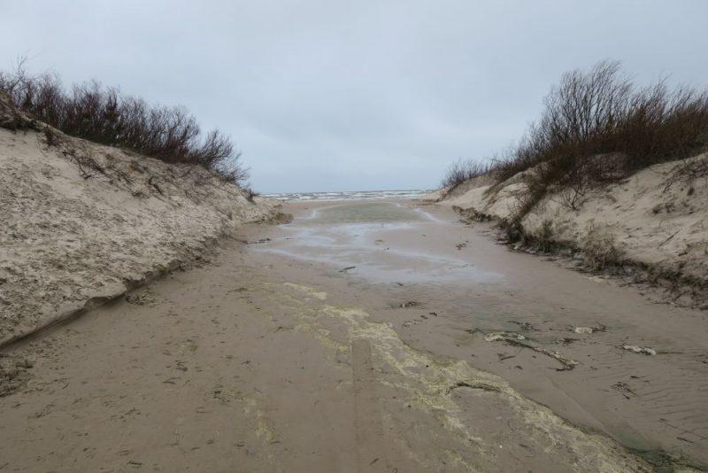 Liepājā 12.martā un pēc tam naktī plosījās spēcīgs vējs. Vētra bija tik liela, ka jūra plūda cauri kāpām, gāzās koki un luksofori.