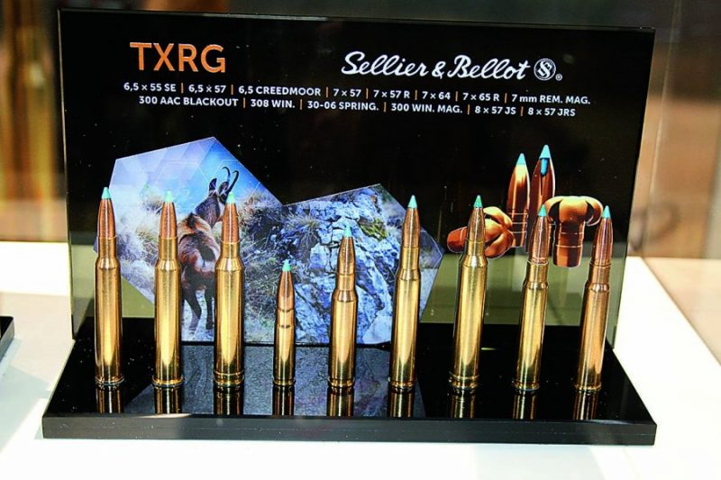 'Sellier&Bellot TXRG' derēs jebkurai distancei.