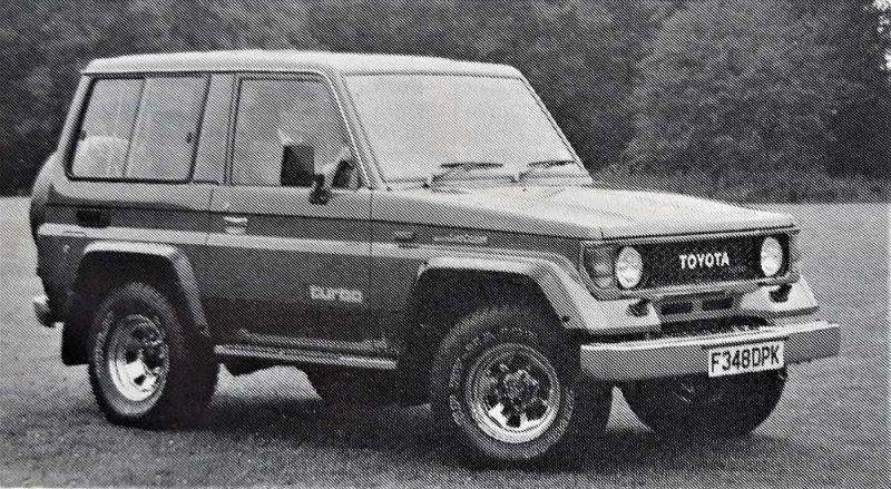 """""""Toyota Landcruiser II""""."""