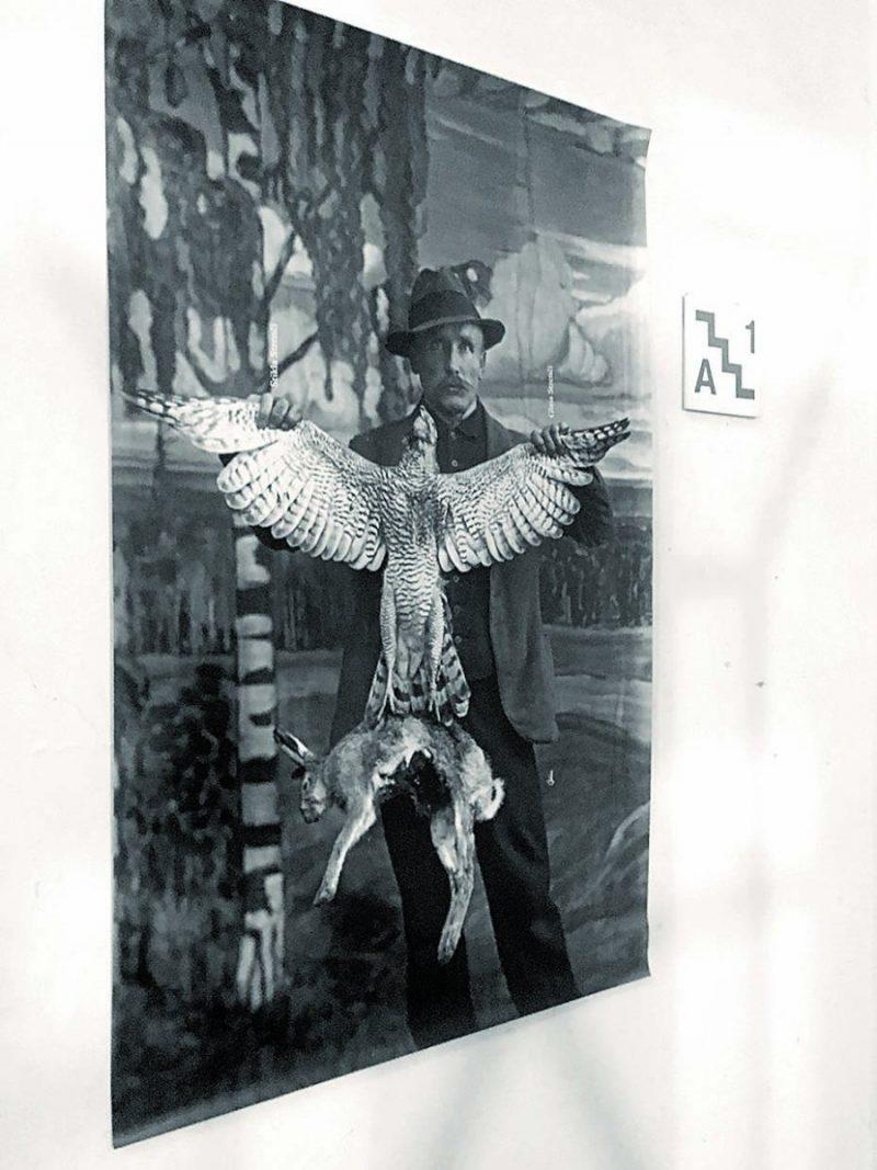 Vilis Rīdzenieks bijis ne vien aizrautīgs fotogrāfs, bet arī mednieks.