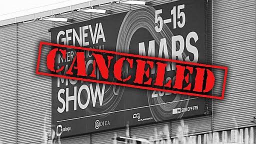 """Starptautiskā Ženēvas autosalona (""""GIMS"""") izstādes nebūs."""
