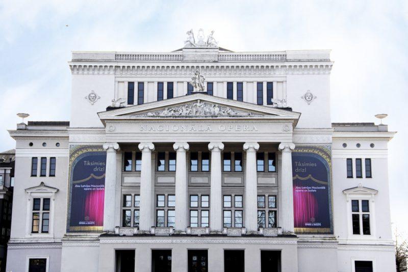 Latvijas Nacionālā opera.