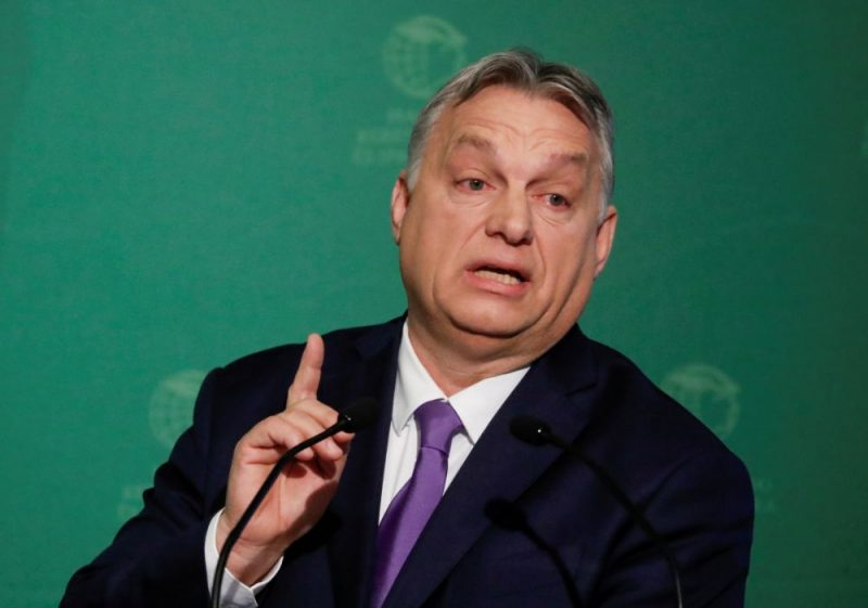 Ungārijas premjerministrs Viktors Orbāns.