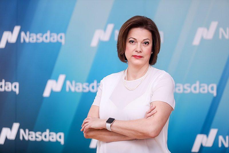 """""""Nasdaq Riga"""" valdes priekšsēdētāja Daiga Auziņa-Melalksne: """"Ja Latvijas uzņēmumu mērķis ir ilgtspējīga attīstība un uzņēmumu vērtības palielināšana, tad iešana biržā ir labs scenārijs."""""""