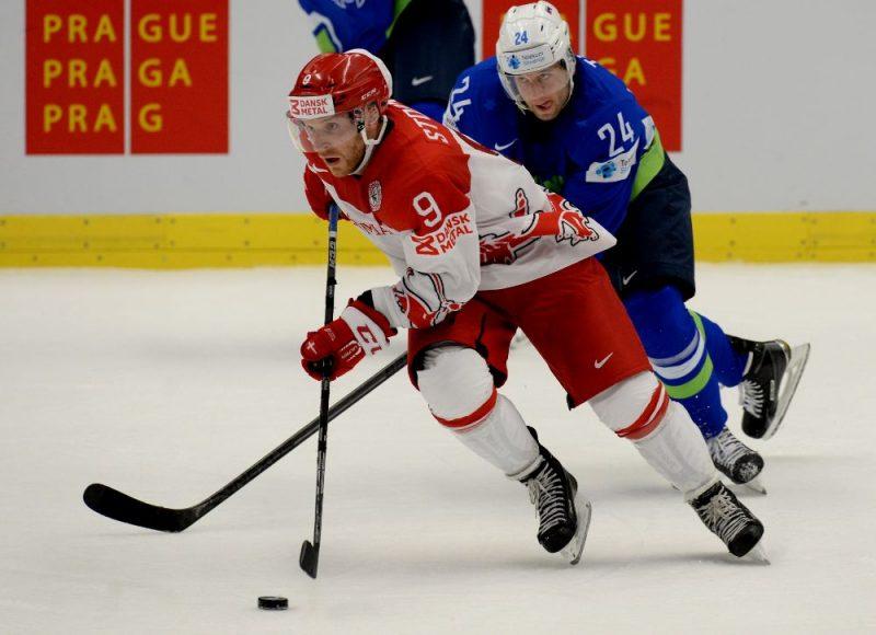 """Frederiks Storms (priekšplānā), kurš varētu papildināt Rīgas """"Dinamo"""" rindas, pārstāvējis arī Dānijas izlasi."""