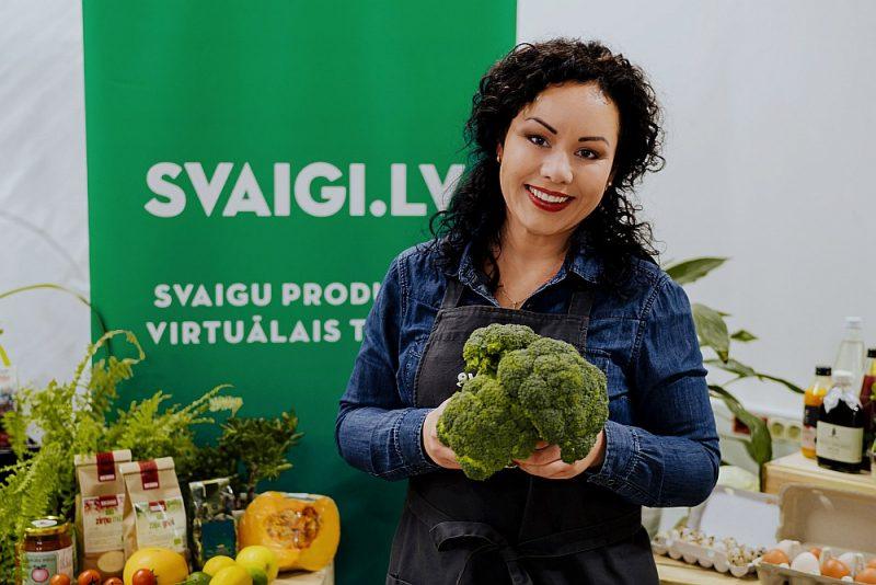 """Elīna Novada, """"Svaigi.lv"""" saimniece: """"Jo vairāk būs tirgus dalībnieku tiešās interneta tirdzniecības sektorā, jo labāku pakalpojumu saņems pircējs. Tā ir iespēja mācīties vienam no otra."""""""