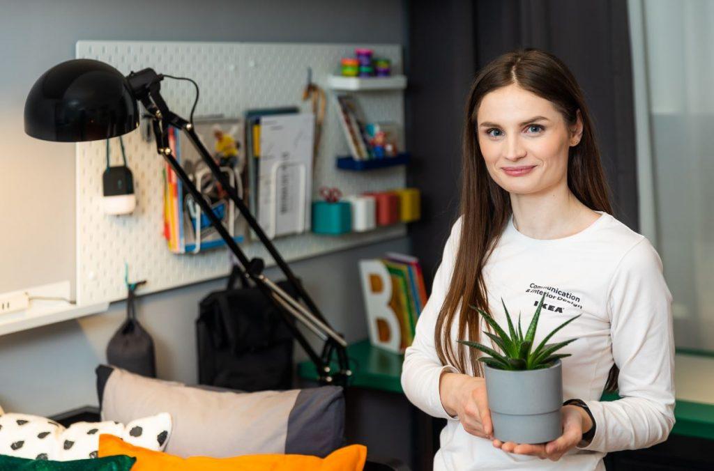 Interjera dizainere Ieva Buka.