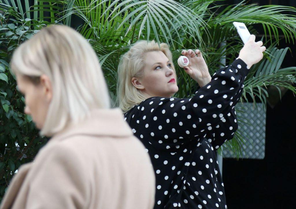 Stiliste un blogere Indra Salveciča.