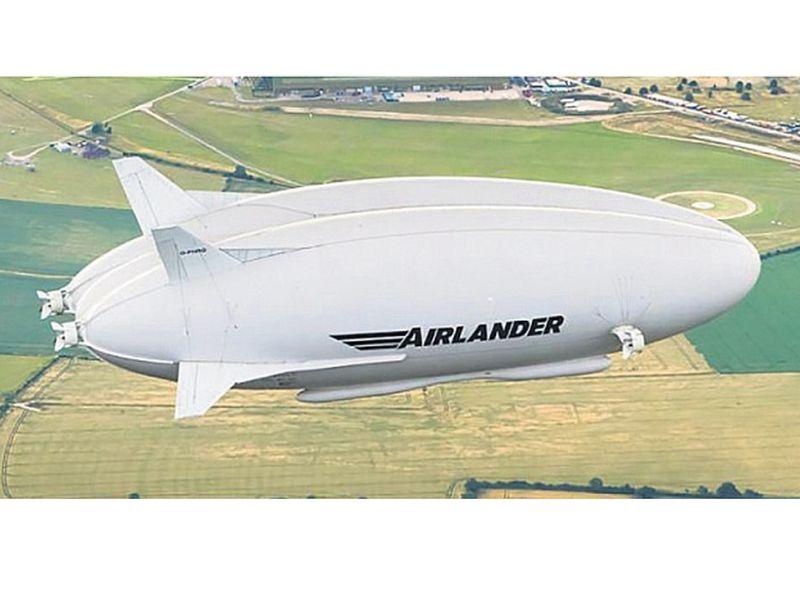 """Britu dirižablis """"Airlander"""" būs pasaulē garākais lidaparāts, ar 98 metriem pārspējot krievu """"Antonov AN-225 Mriya"""" kravas lidmašīnu."""