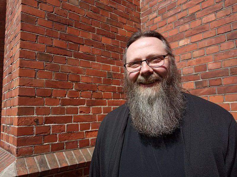 """Jānis Bitāns: """"Liepājā pastāv cieša dažādu konfesiju draudžu, garīdznieku un pilsētas vadības sadarbība."""""""