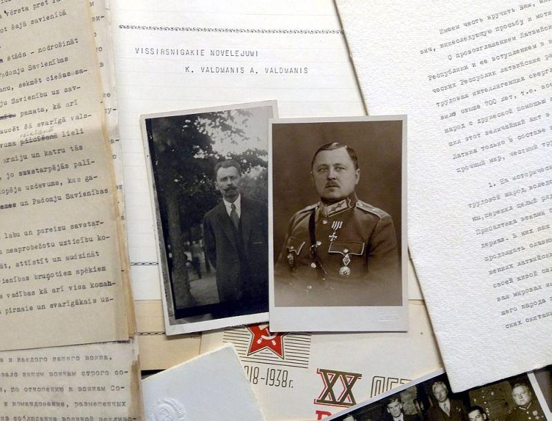 Pateicoties Roberta Dambīša pēcnācēju dāvinājumam, muzeja rīcībā nonākuši interesanti vēsturiski dokumenti, kas bagātina arī stāstu par 1940. gada notikumiem Latvijā.