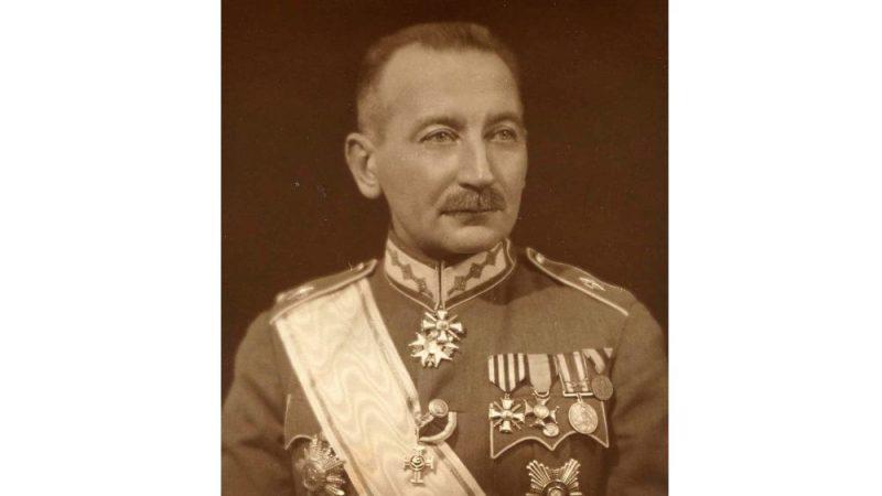 Ģenerālis Pēteris Radziņš (1880–1930).